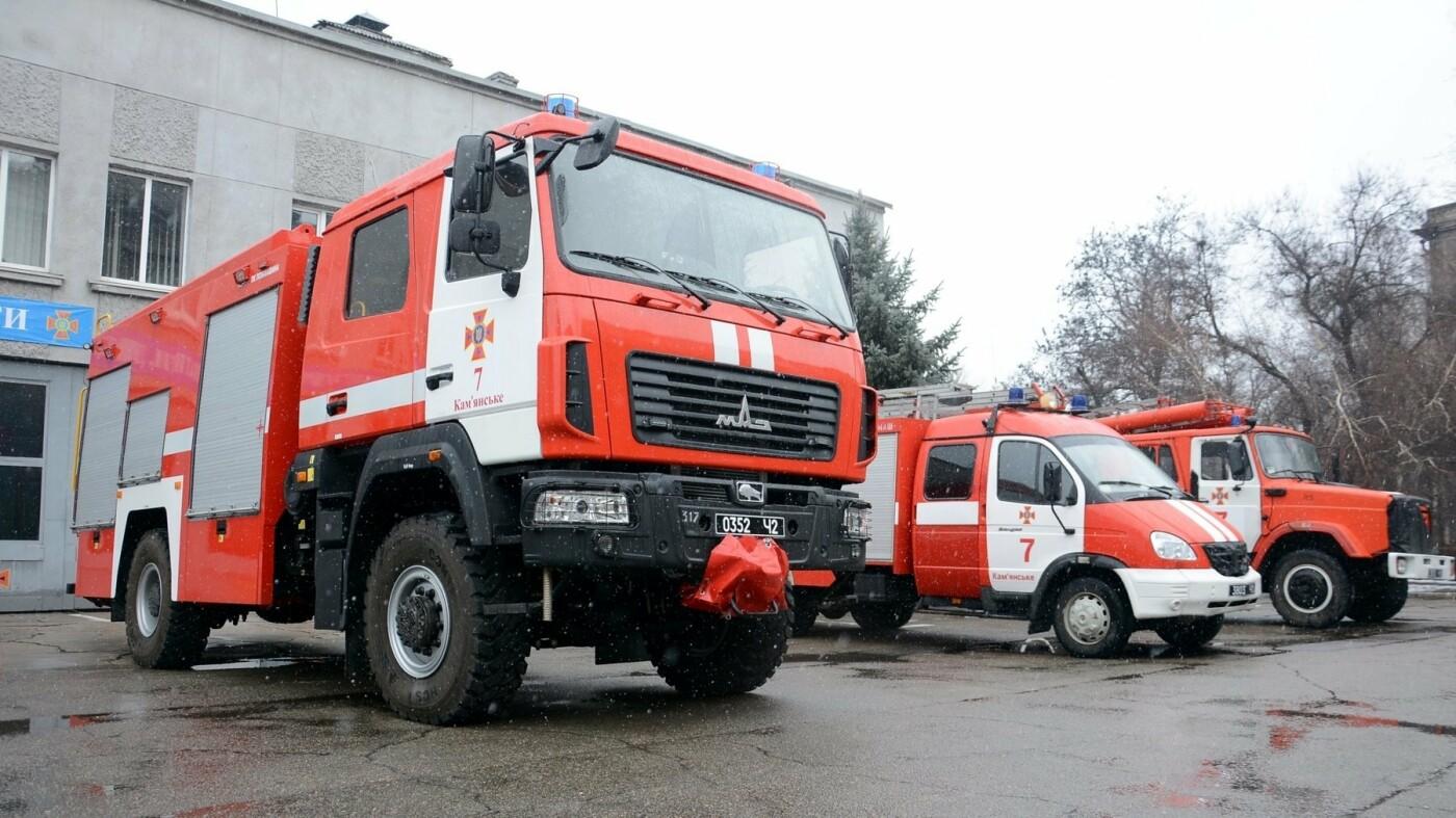 В Каменском произошел пожар в двух местах одновременно, фото-3
