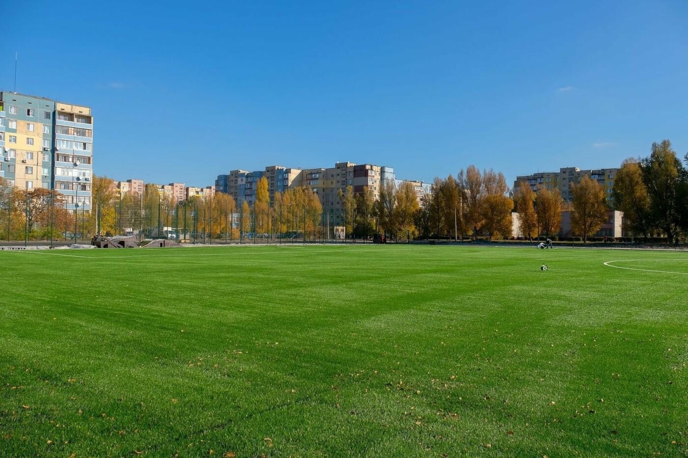 На левом берегу Каменского завершают строительство стадиона  , фото-9