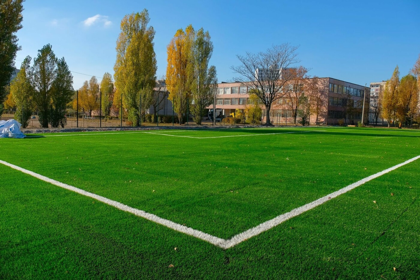На левом берегу Каменского завершают строительство стадиона  , фото-2