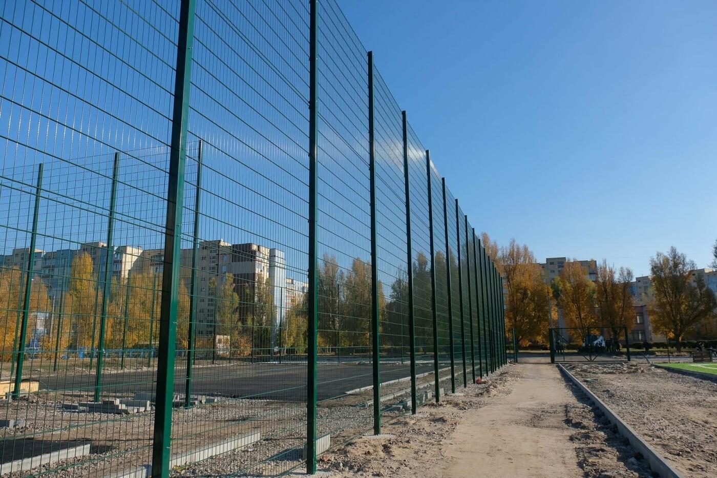 На левом берегу Каменского завершают строительство стадиона  , фото-7