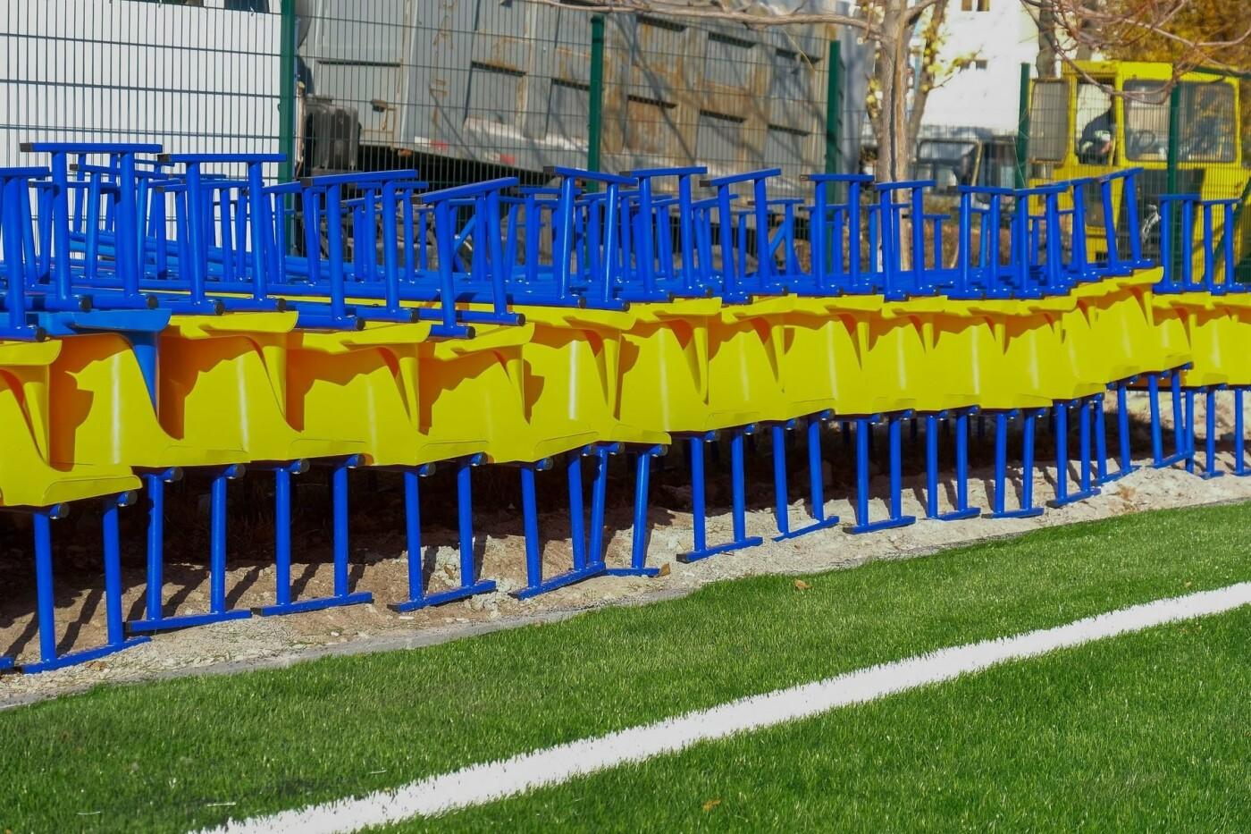 На левом берегу Каменского завершают строительство стадиона  , фото-5