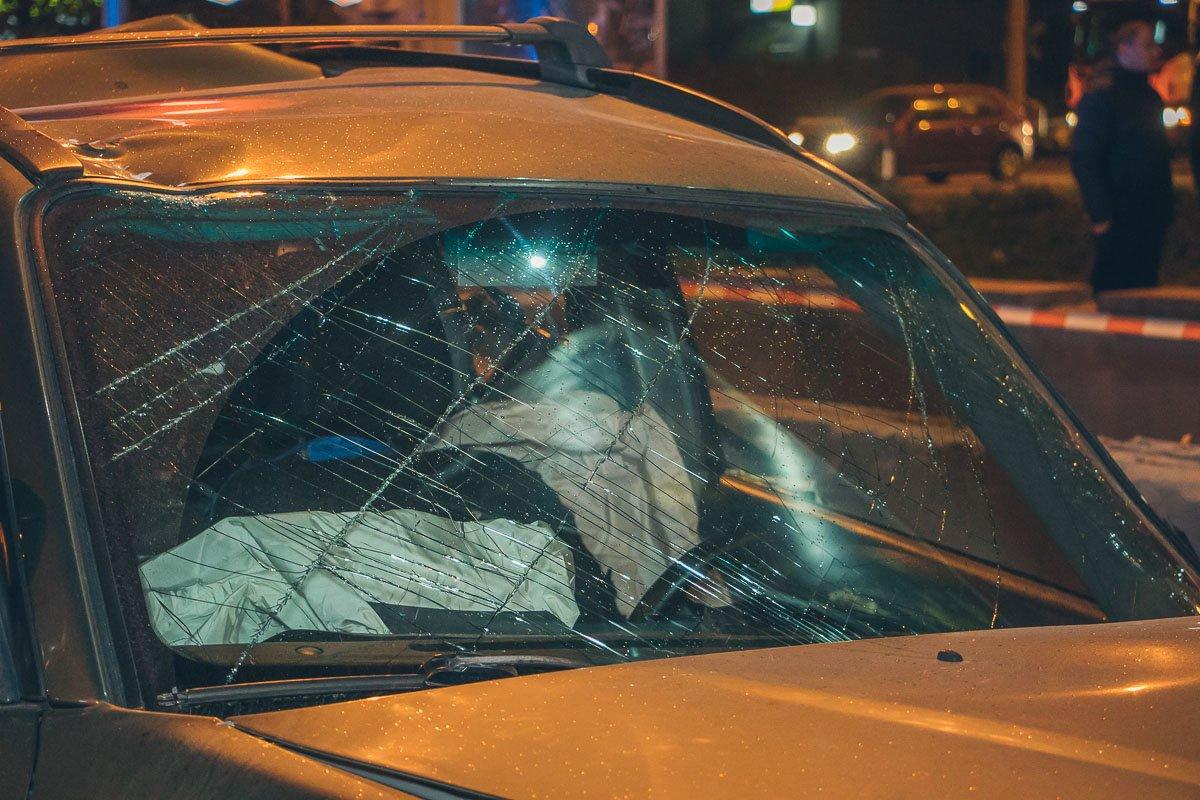 В Днепре мастштабное ДТП: столкнулись 10 автомобилей, есть пострадавшие, фото-8
