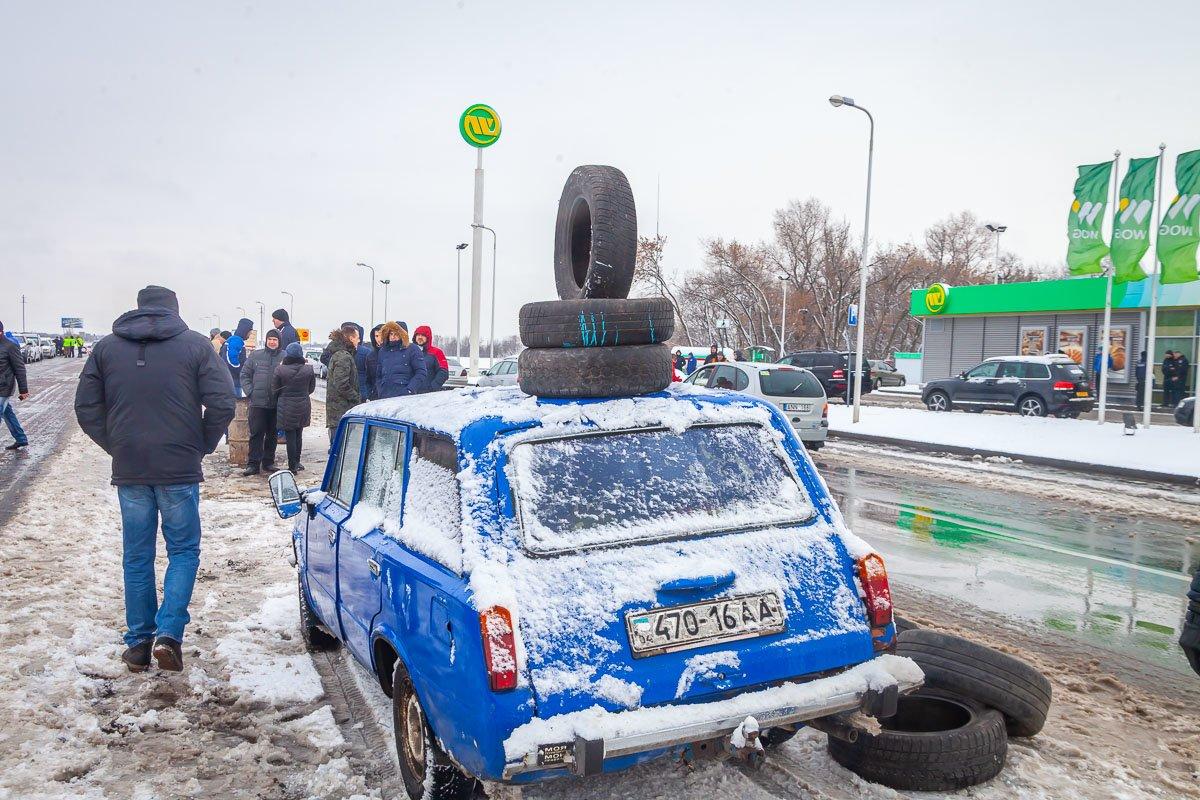 Под Каменским перекрыли часть трассы: митингующие настроены решительно, фото-3