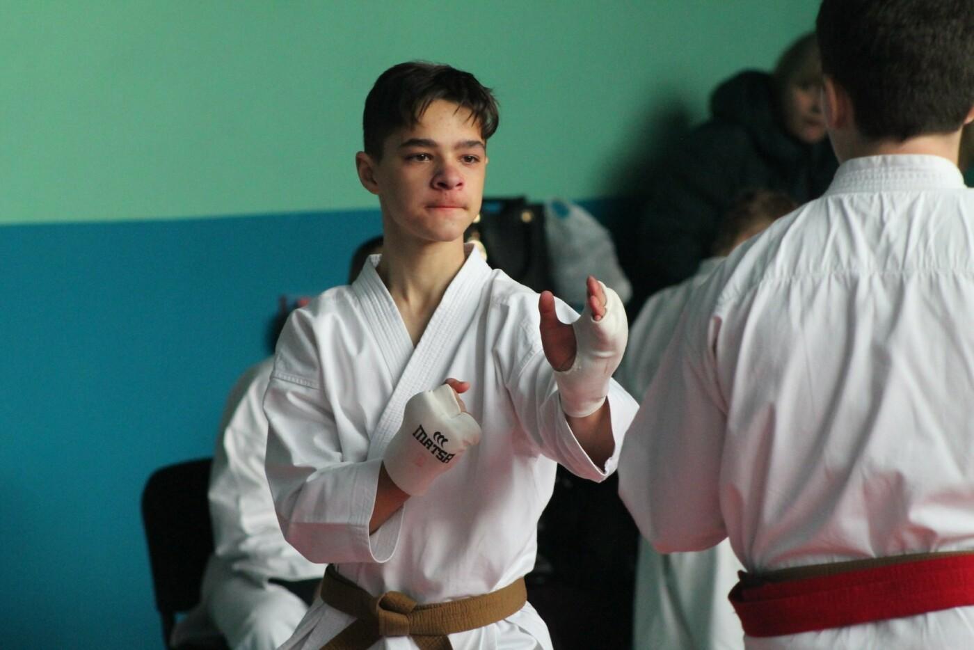 В Каменском соревновались каратисты, фото-3