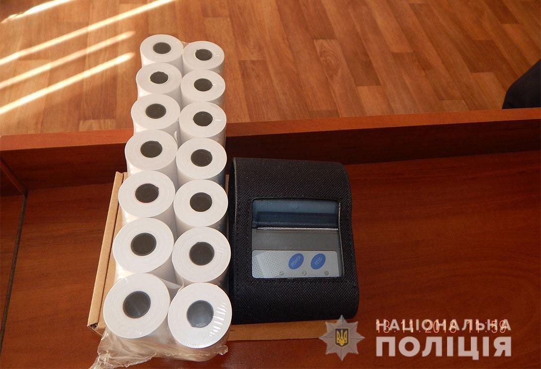 Выписывают штраф за две минуты: у каменских полицейских появились термопринтеры , фото-1