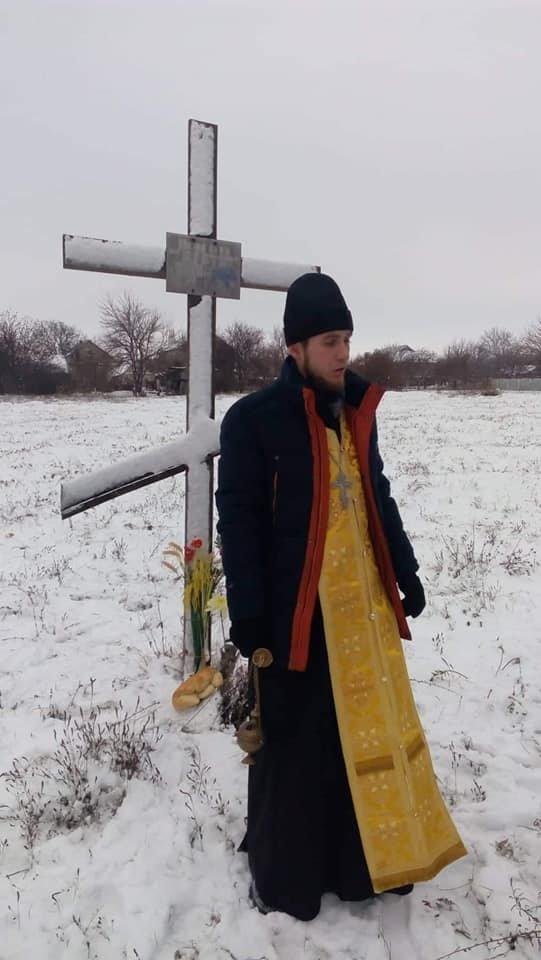 В Каменском поминали убитых голодом горожан, фото-3