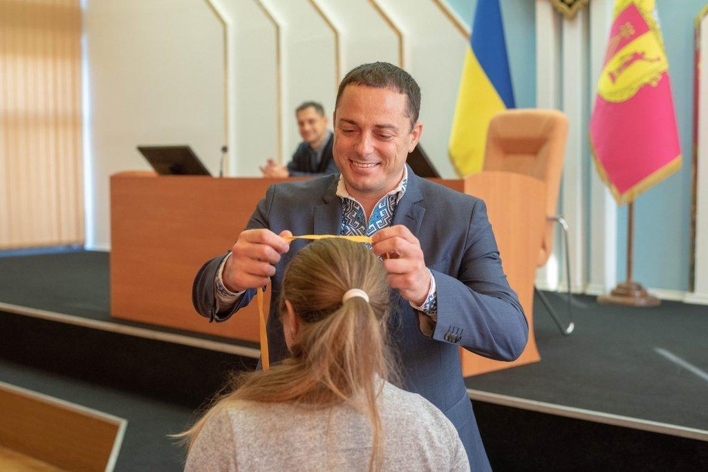 В Каменском заседали активисты Молодежного совета и мэр города, фото-1