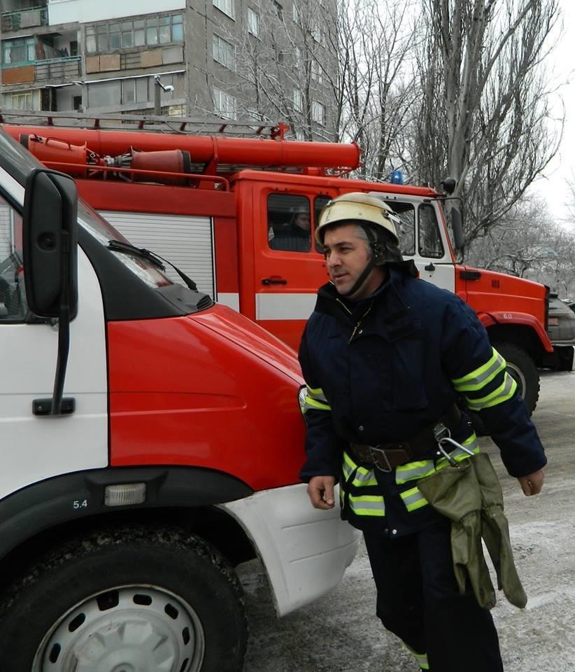 В Каменском горел частный дом, фото-1