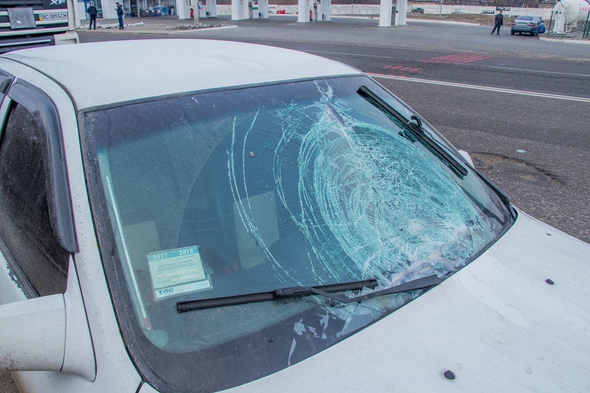 Под Каменским Opel сбил женщину на пешеходном переходе, фото-2