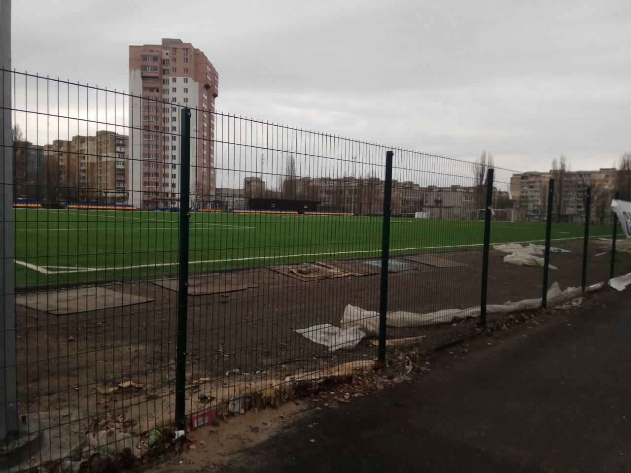 «Металлисты» добрались до нового стадиона на левобережье Каменского, фото-3