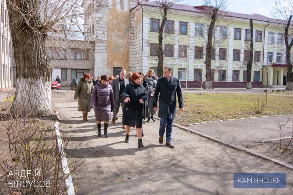 В Южном районе Каменского отремонтируют две школы, фото-1