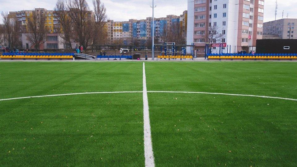 В Каменском построили стадион, фото-12