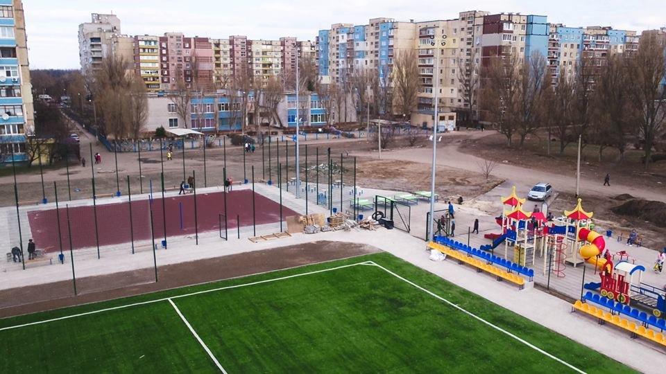 В Каменском построили стадион, фото-5