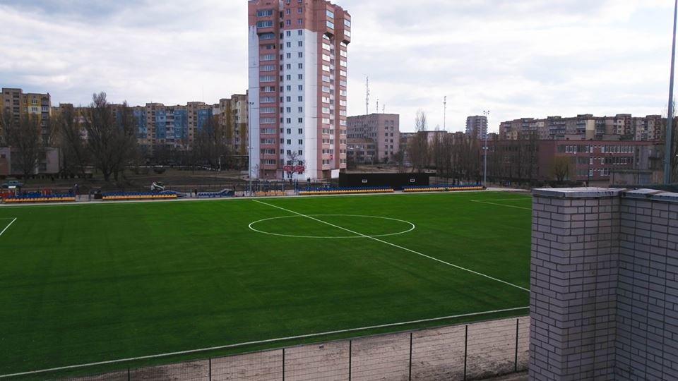 В Каменском построили стадион, фото-10