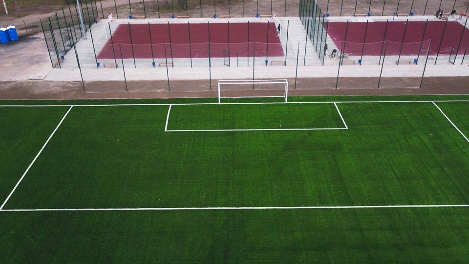 В Каменском построили стадион, фото-9