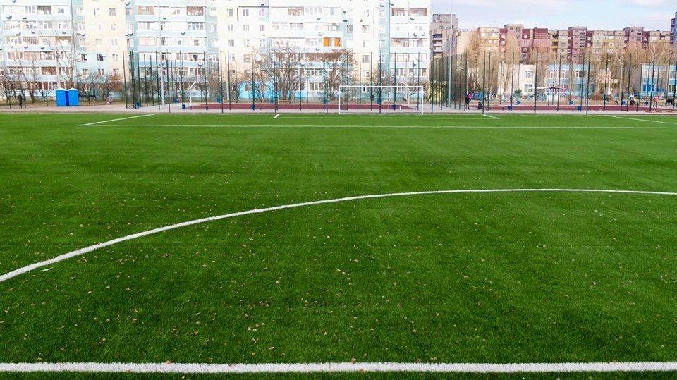 В Каменском построили стадион, фото-11