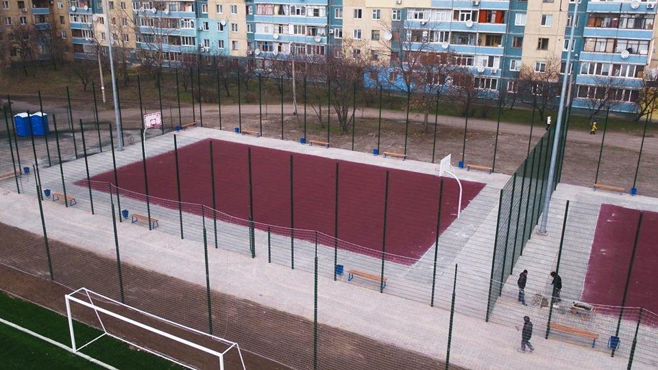 В Каменском построили стадион, фото-3