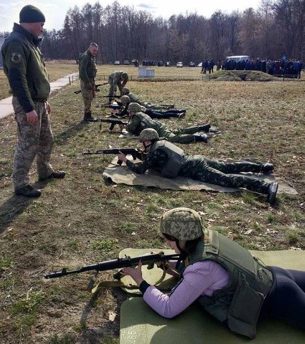 Юноши Каменского участвовали в боевых стрельбах на базе военной части ВСУ, фото-1