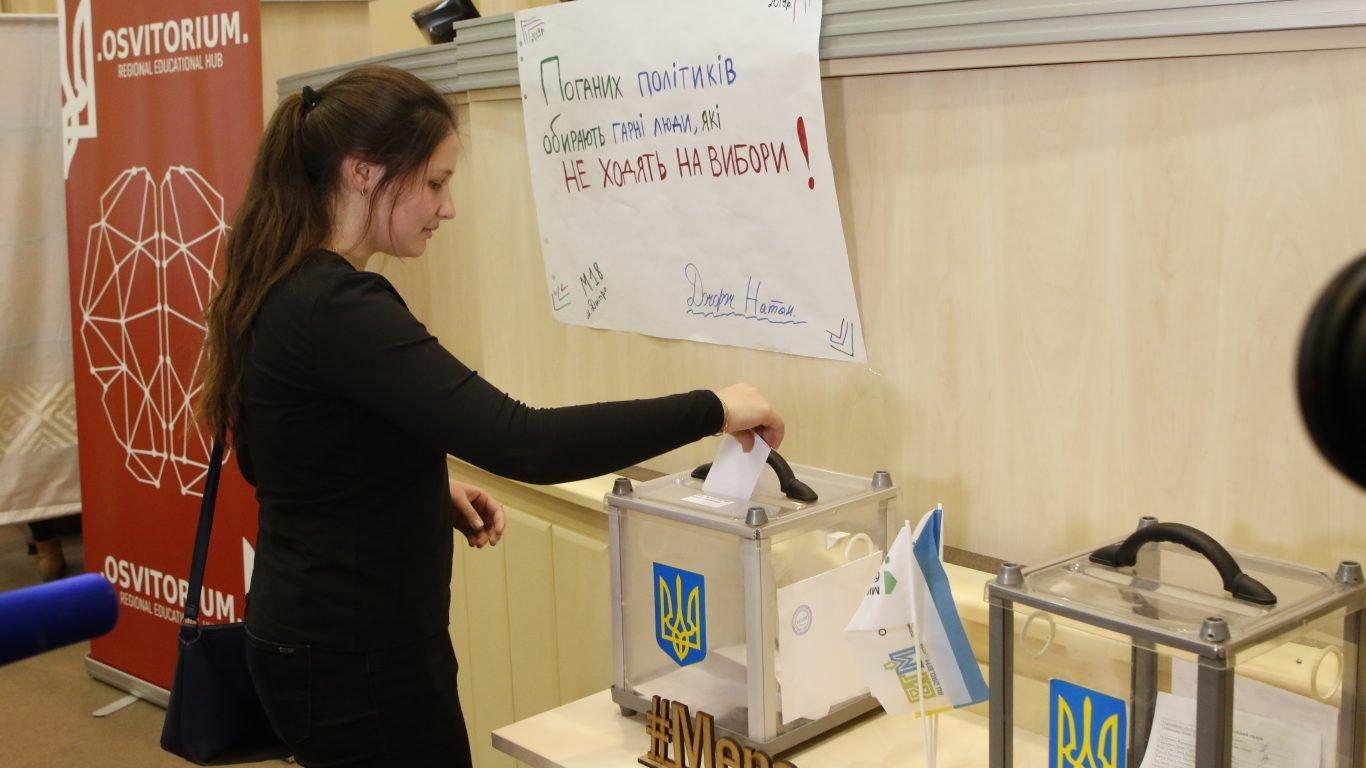 По предвыборной программе: школьники Днепропетровщины выбирали главу государства, фото-2
