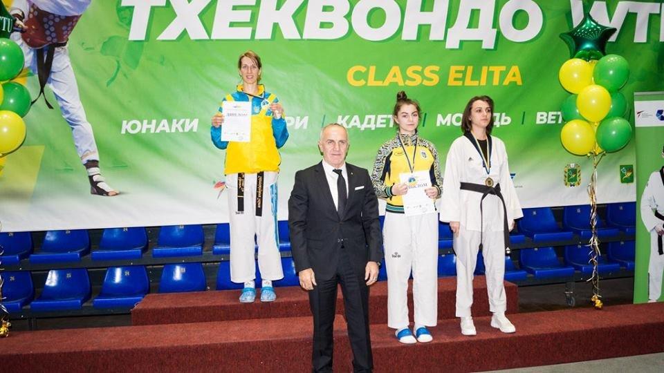 Каменские тхэквондисты заняли призовые места чемпионата Украины, фото-1