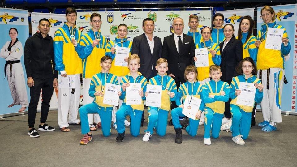 Каменские тхэквондисты заняли призовые места чемпионата Украины, фото-2