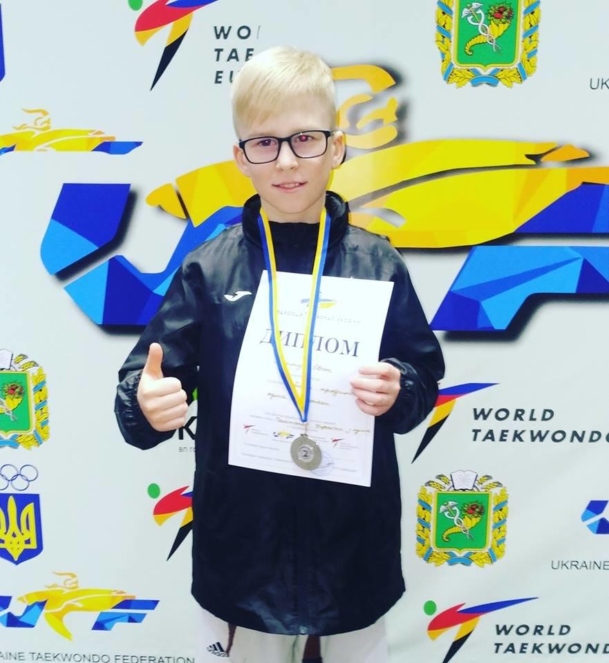 Каменские тхэквондисты стали призерами чемпионата Украины, фото-5