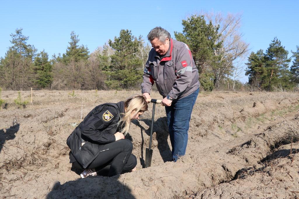 """""""Посади дерево своими руками"""": в Каменском стартовала экологическая акция , фото-2"""