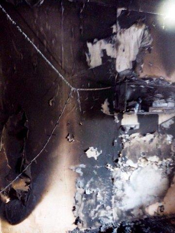 «Состояние средней тяжести»: в Каменском на пожаре пострадал годовалый малыш, фото-1