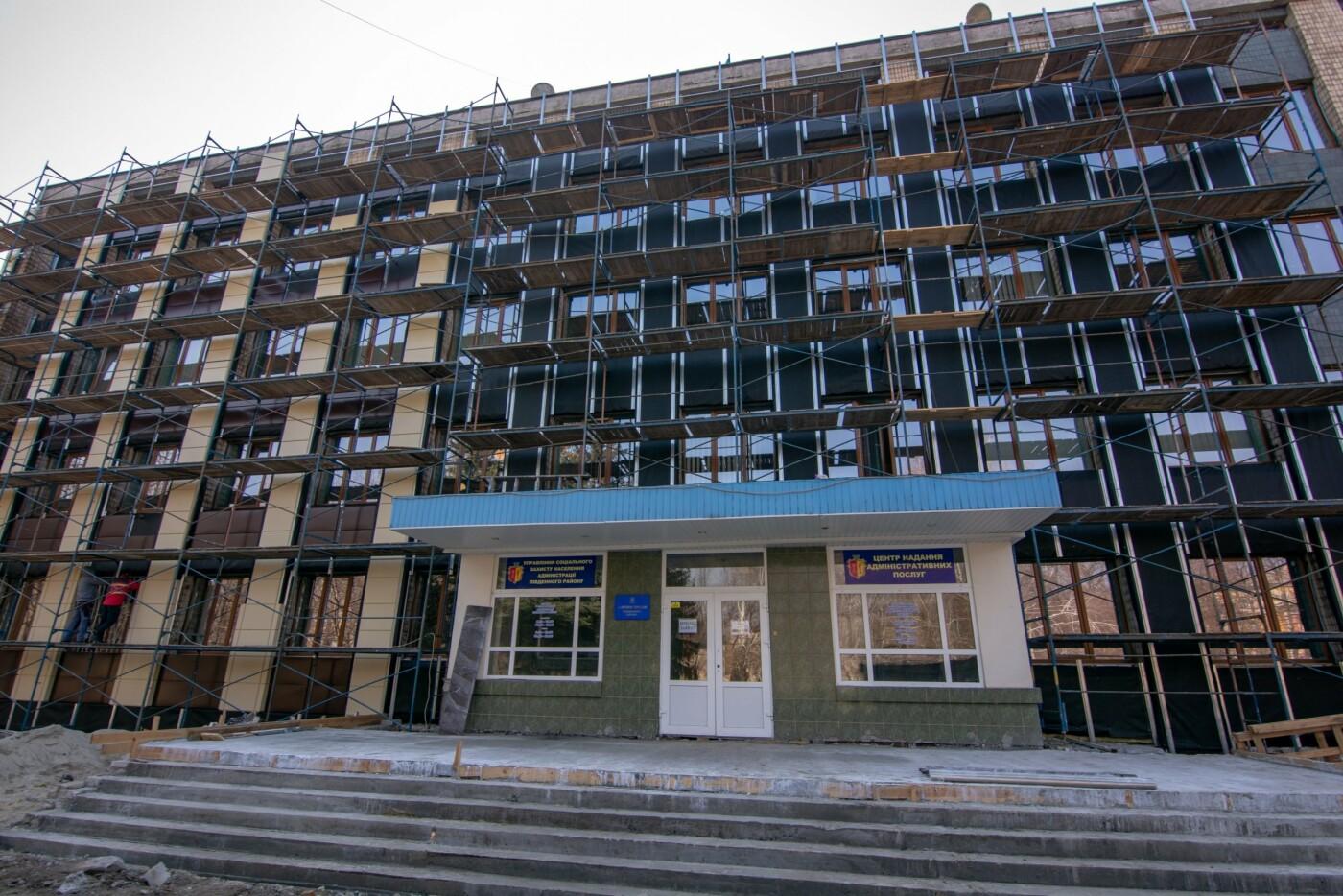 ЦПАУ Южного района в Каменском: «Прозрачный офис», современный ремонт, детская площадка и фонтан, фото-5