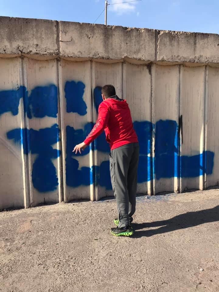 В Каменском массово закрашивают рекламу наркотиков, фото-11