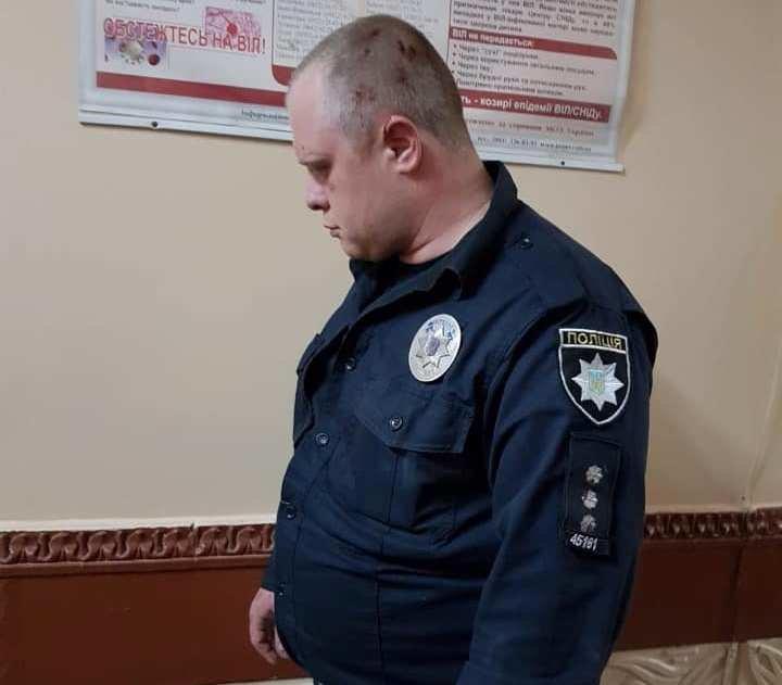 В Каменском во время задержания злоумышленника полицейские открыли огонь, фото-1
