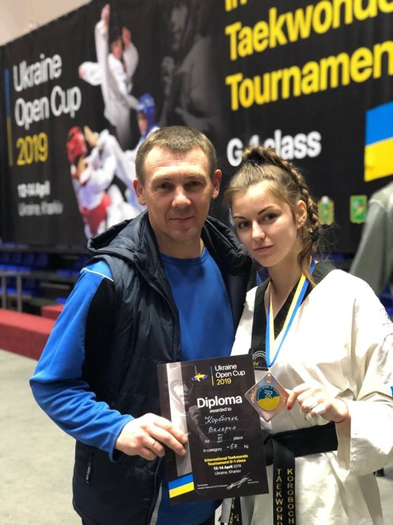 Каменчанка в первый день международного турнира по тхэквондо завоевала бронзовую медаль , фото-1