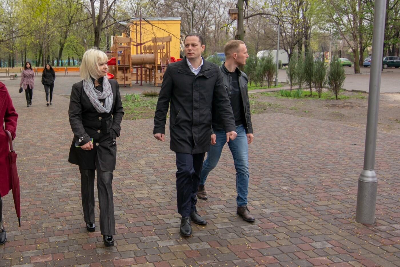 Развлекательная программа, конкурсы и квесты: центральный парк Каменского готовят к открытию, фото-5