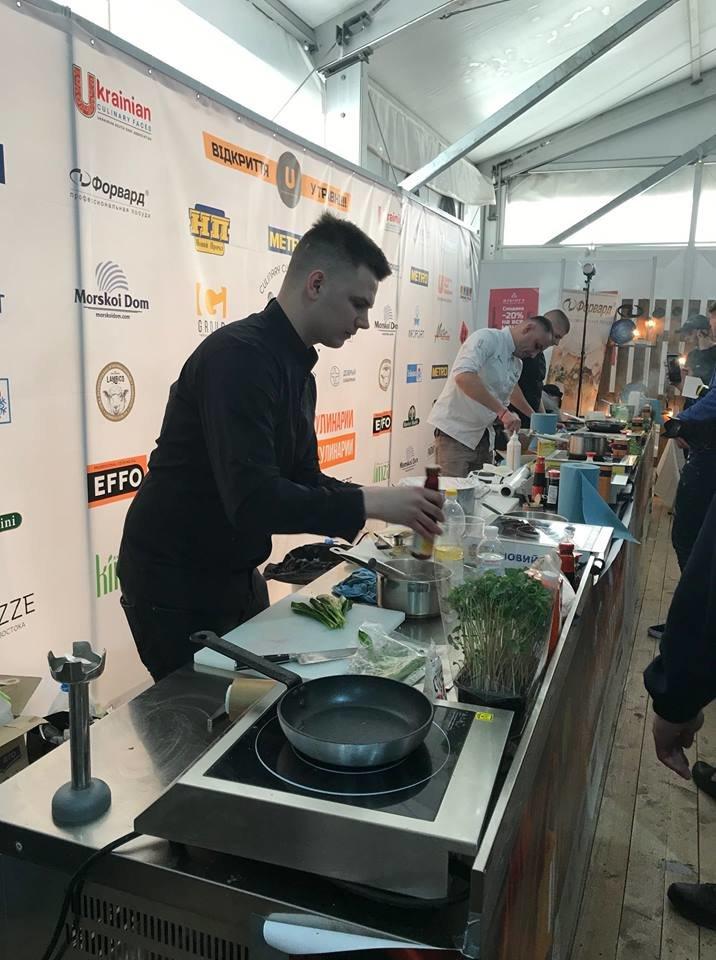 Каменчанин стал победителем Кубка Украины по кулинарии, фото-1