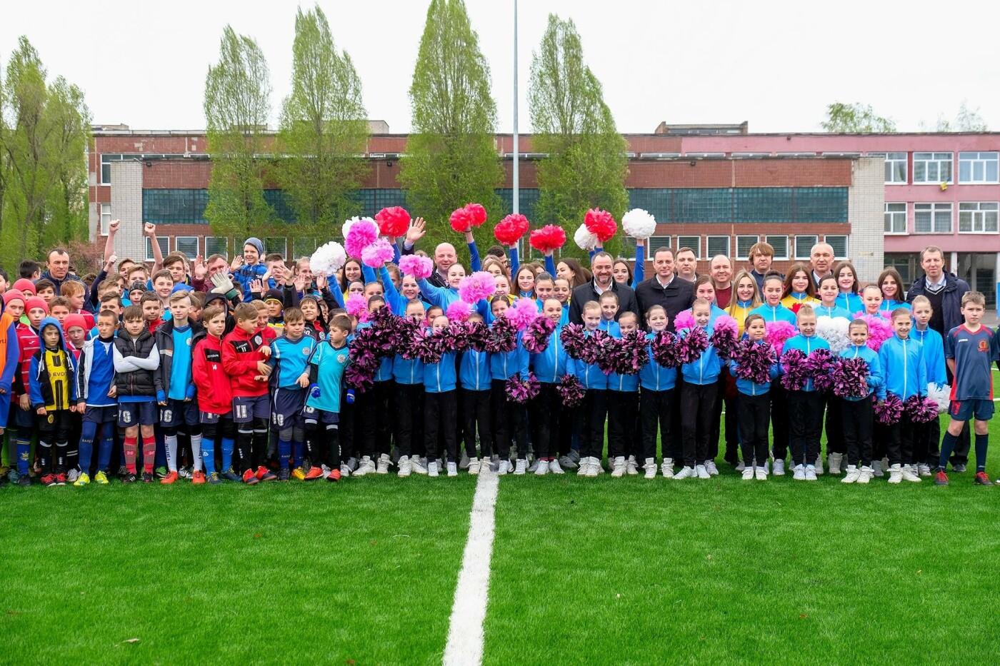 Новый стадион в Каменском открыли матчем со звездами украинского футбола, фото-11