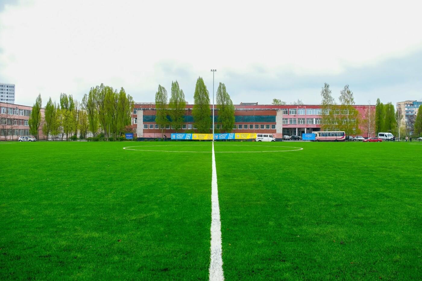 Новый стадион в Каменском открыли матчем со звездами украинского футбола, фото-14