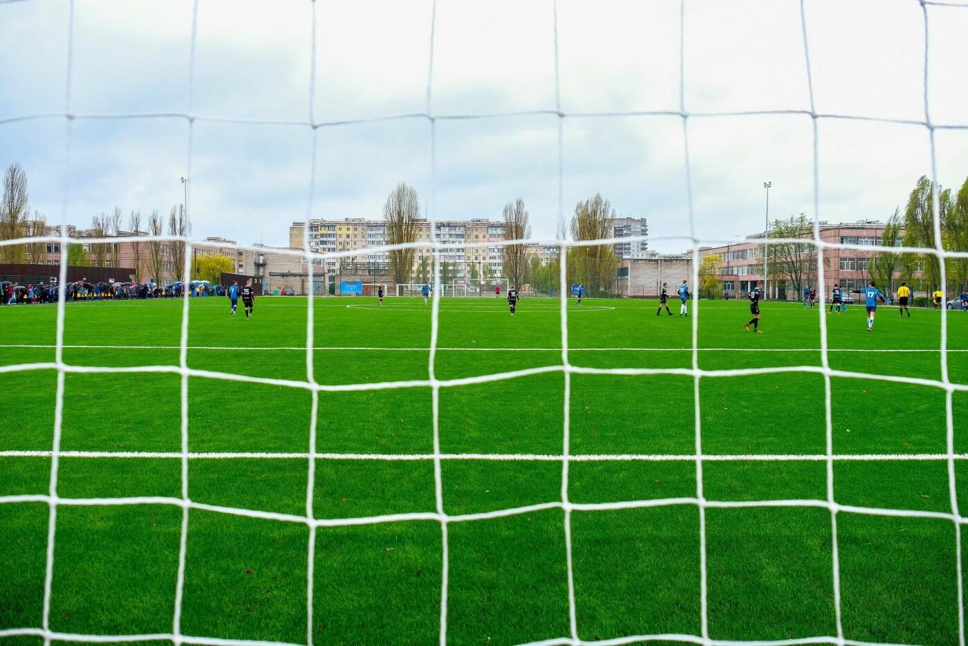 Новый стадион в Каменском открыли матчем со звездами украинского футбола, фото-12