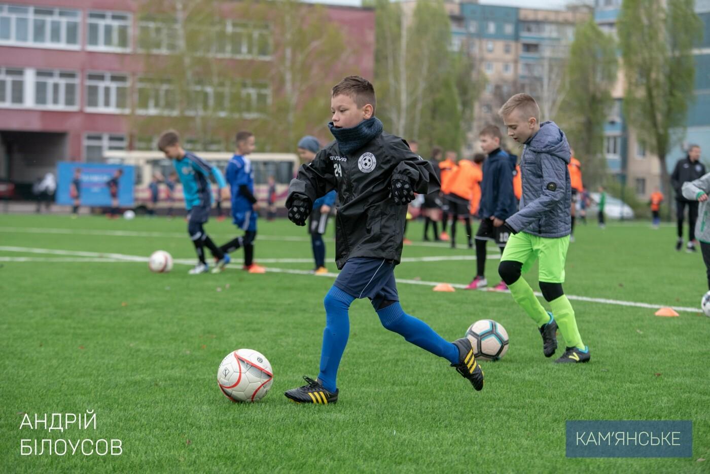 Новый стадион в Каменском открыли матчем со звездами украинского футбола, фото-9