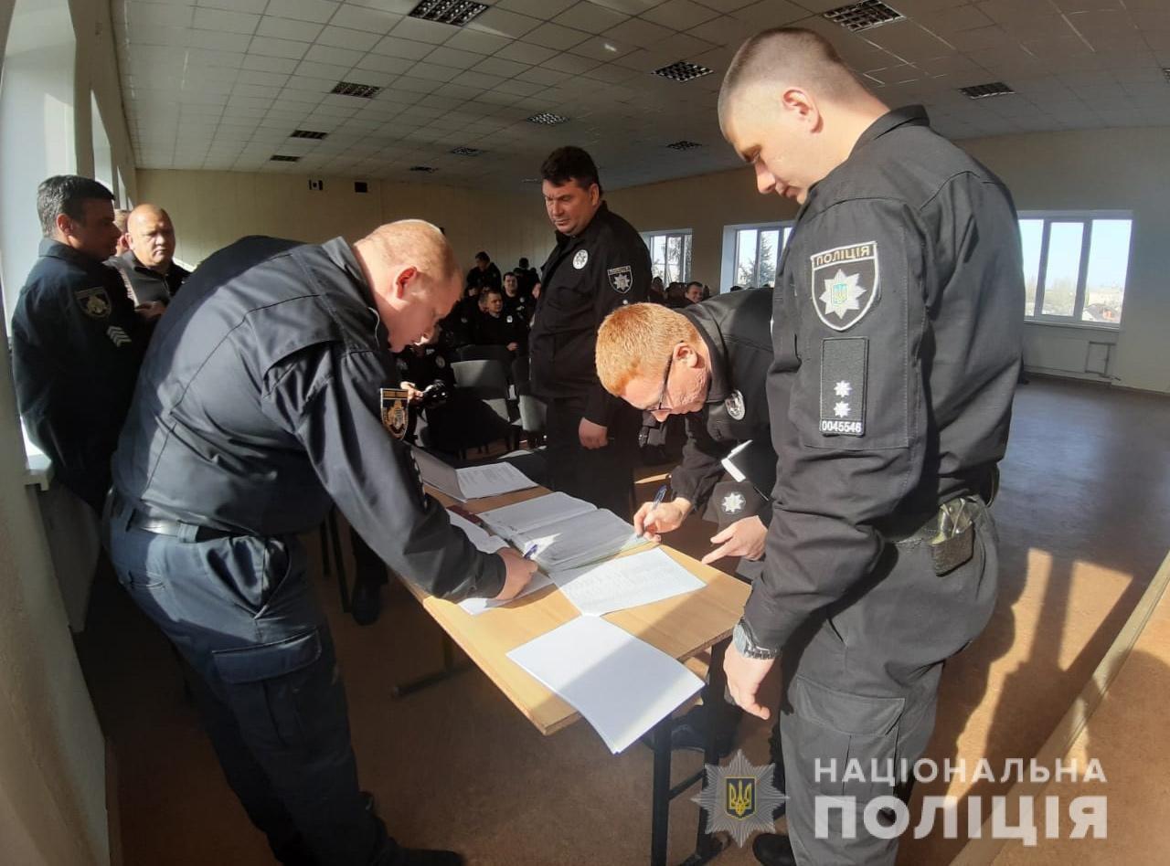 На страже порядка: полицейские Днепропетровщины будут следить за бюллетенями , фото-3
