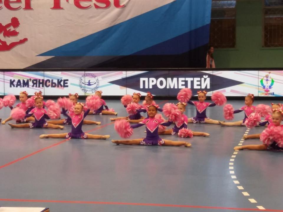 Черлидеры из Каменского привезли из Запорожья 43 медали, фото-10