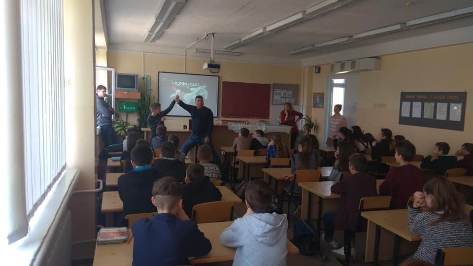 В школах Каменского популяризируют спорт, фото-2