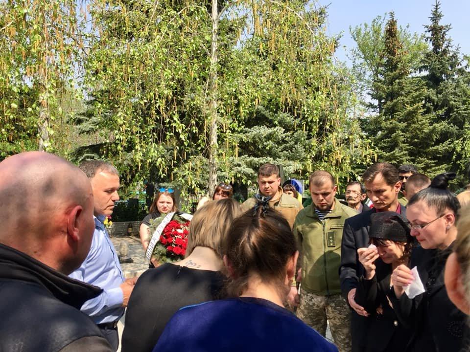 В Каменском попрощались с погибшим на Донбассе воином, фото-6