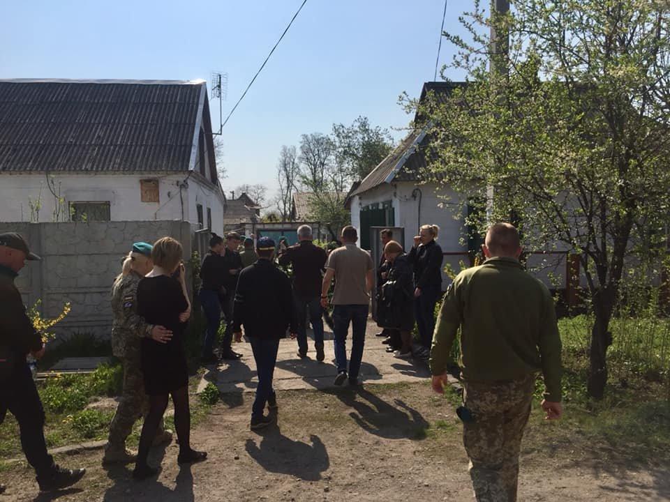 В Каменском попрощались с погибшим на Донбассе воином, фото-7