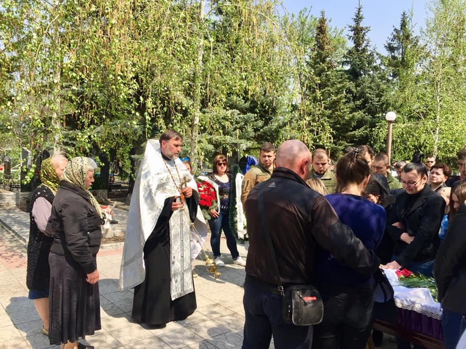 В Каменском попрощались с погибшим на Донбассе воином, фото-14