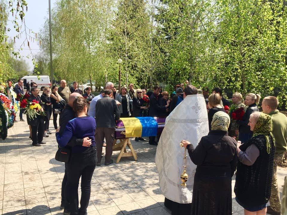 В Каменском попрощались с погибшим на Донбассе воином, фото-12