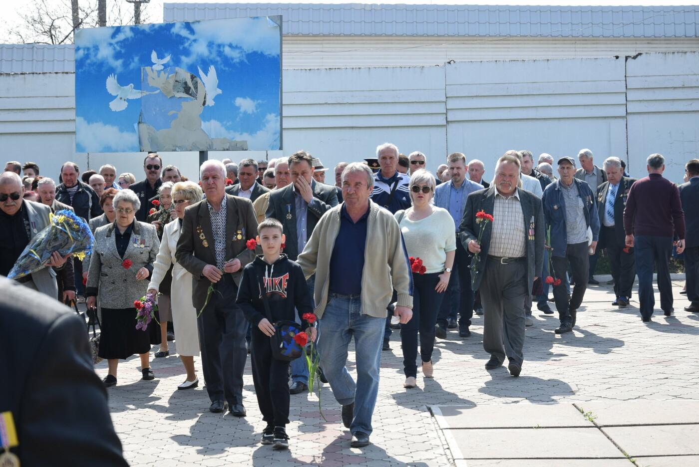 В Каменском почтили героев и жертв аварии на ЧАЭС, фото-12