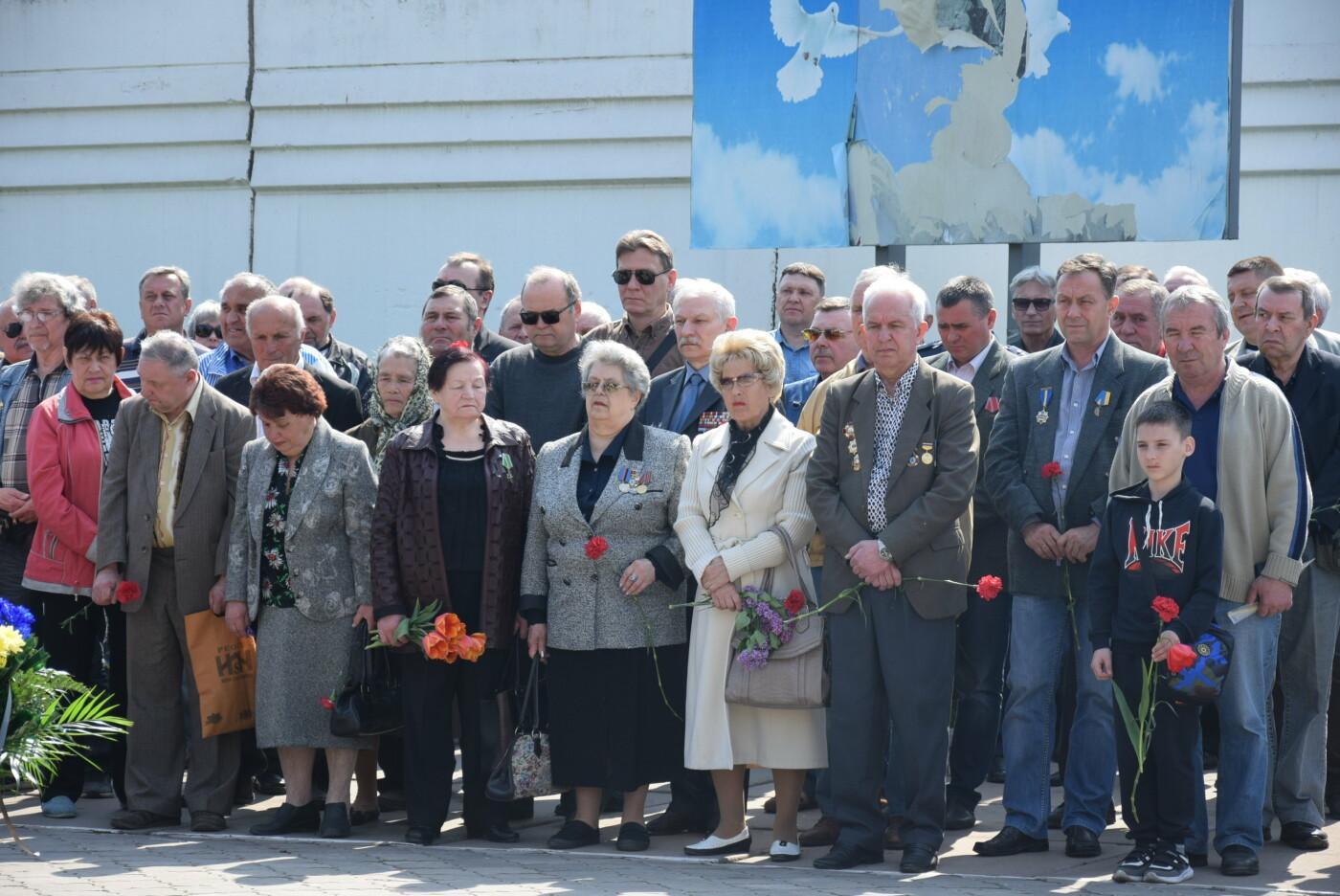 В Каменском почтили героев и жертв аварии на ЧАЭС, фото-5