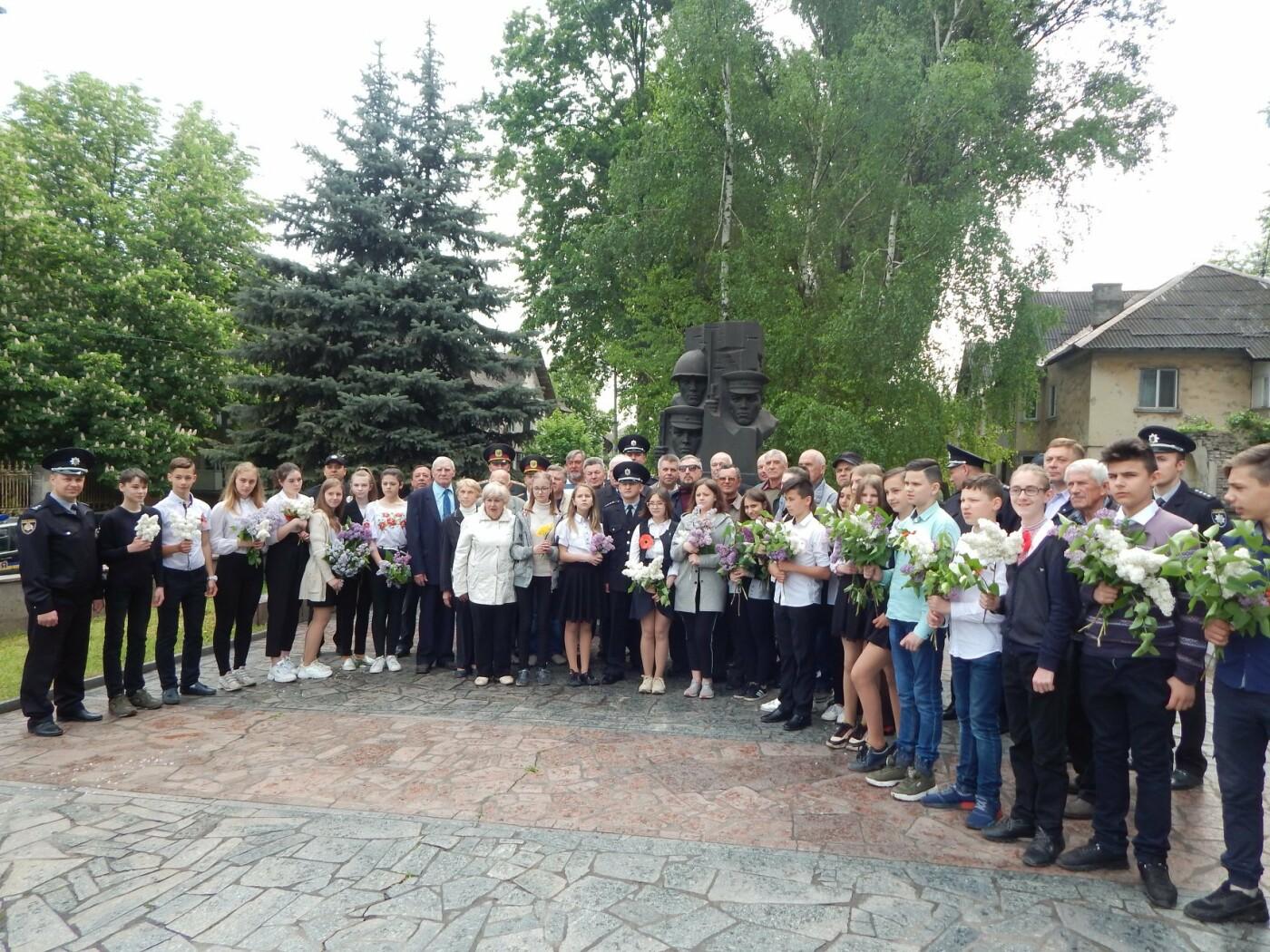 Полицейские Каменского почтили память погибших коллег, фото-1