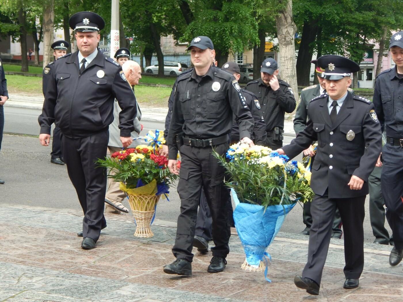 Полицейские Каменского почтили память погибших коллег, фото-2
