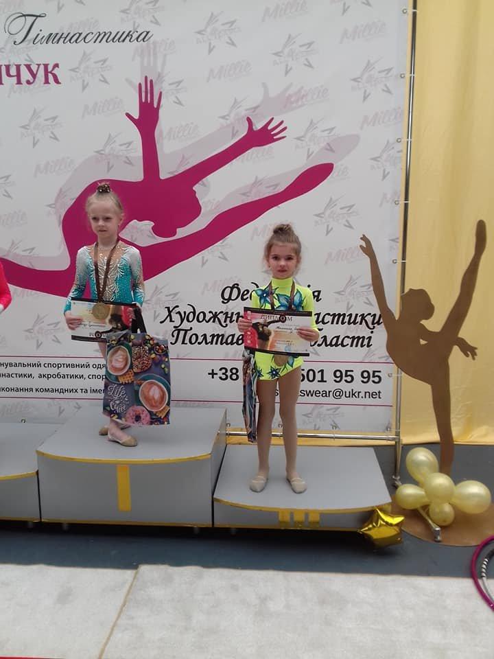 Каменские гимнастки успешно выступили на выездных соревнованиях, фото-4